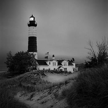 Big Sable Point Light by Jeff Burton