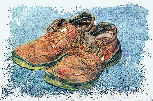 Big Shoes To Fill by Digital Art Photo Studio
