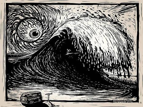 Big Wave by Bomonster