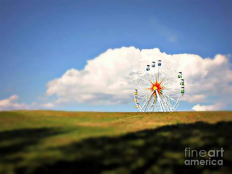 Big Wheel In Nature by Ste Flei