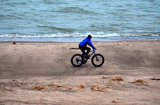 Bike Man 1 by Jeffrey Platt