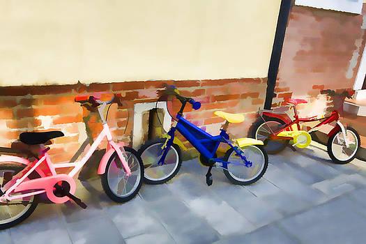 Bike Parking by Indiana Zuckerman