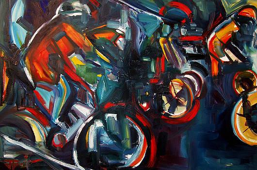 Bike Warm Up by John Gholson