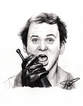 Bill Murray by Rosalinda Markle