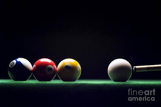 Billiard by Tony Cordoza