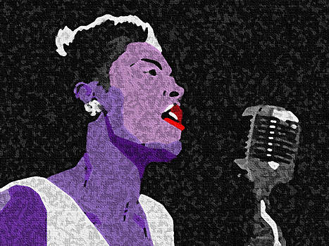 Billie Holliday Lady Sings The Blues by GR Cotler