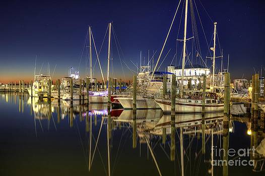 Biloxi Harbor by Maddalena McDonald