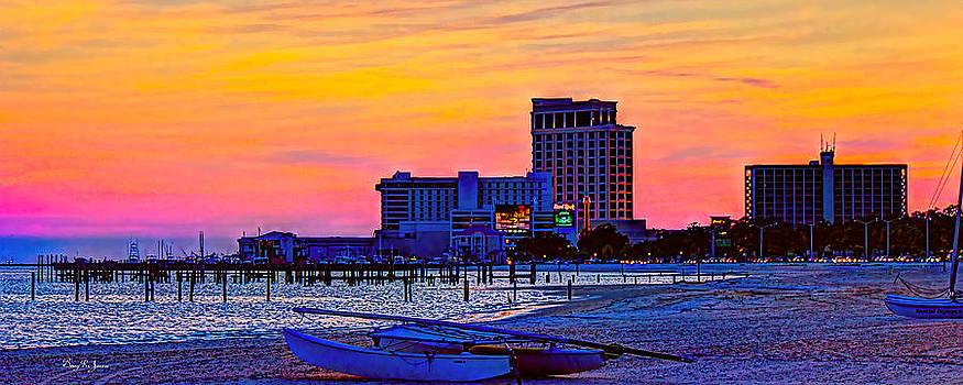Barry Jones - Coastal - Beach - Biloxi Twilight