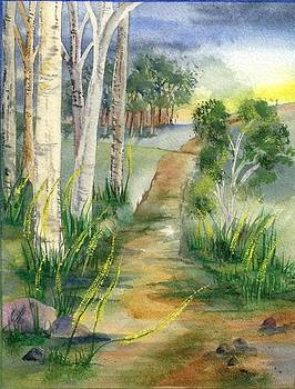 Birch Lane by Rosemarie Franco-Bell