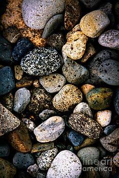 Birch Point Rocks by Belinda Dodd