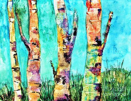 Angela Pari  Dominic Chumroo - Birched Rainbows