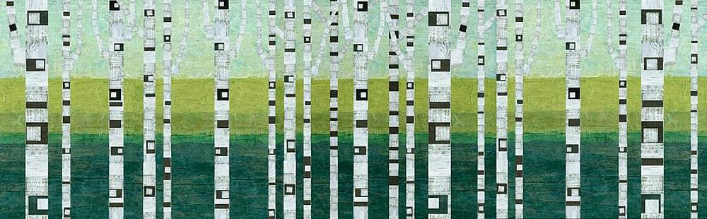 Michelle Calkins - Birches at the Beach