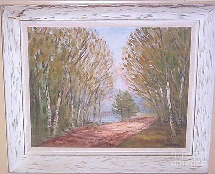 Birchroad by Richard Gordon Packer