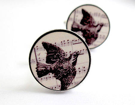 Bird Cufflinks by Rony Bank