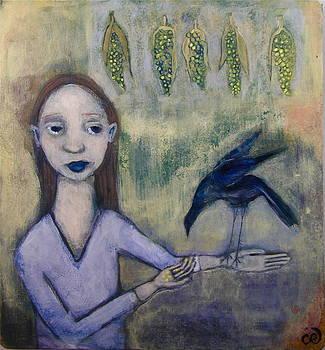 Bird Feeder by Cindy Riccardelli
