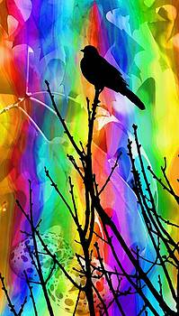 Bird on a Stick by Elizabeth Budd