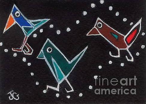Bird Walk by Joyce Gebauer