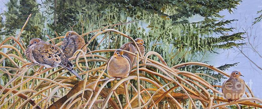 Birds of a Feather by Helen Shideler