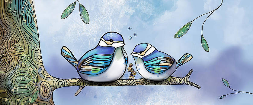 Birds of Blue by Karin Taylor