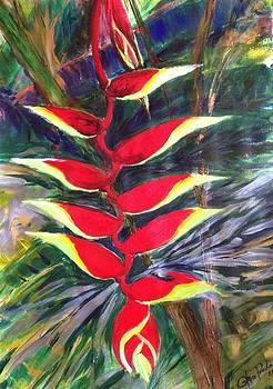Birds on Paradise 4 by Otero Prada