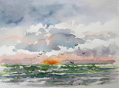 Birds rising III by Julianne Felton