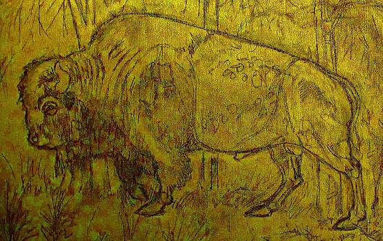 Golden  Buffalo by Larry Campbell