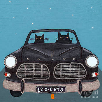 Black 120 Cats by Ryan Conners