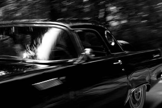 Black and White Car Movment by Michael Huddleston