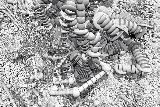 Roseann Caputo - Black and White Construct