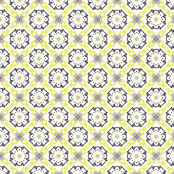 Black and Yellow lines by Savvycreative Designs