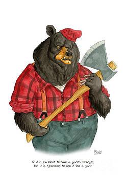 Black Bear by Blair Bailie