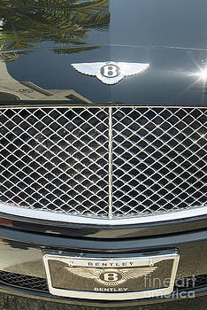 David  Zanzinger - Black Bentley Chrome Grille Close up