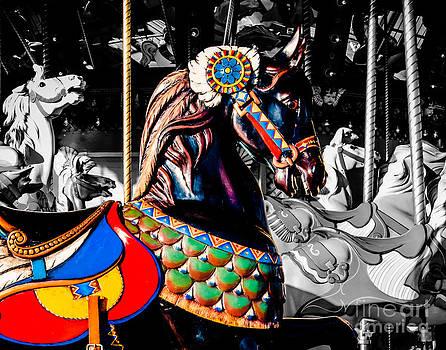 Sonja Quintero - Black Carousel Horse