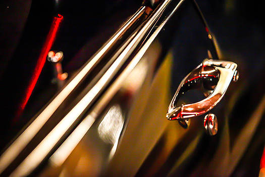 Black Chevelle door handle by Shanna Gillette