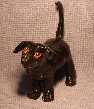 Black DOG  by Debbie Limoli