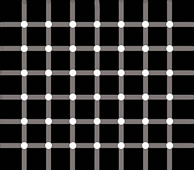 Black Dot Illusion by Nick Kloepping
