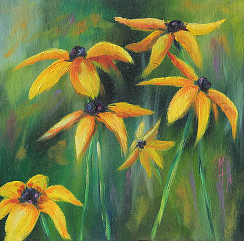 Black- Eyed Susans 2 by Meaghan Troup