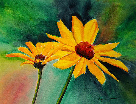 Black Eyed Susans by Suzanne Johnson