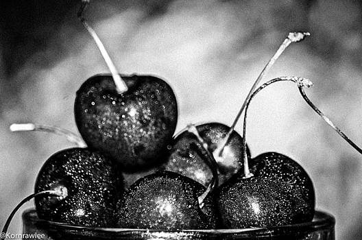 Black fruits by Kornrawiee Miu Miu