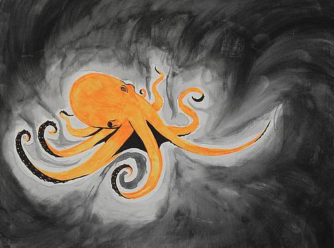 Black Light Octopus by Holly Hunt