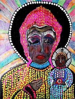 Black Madonna  by Darlyne Sax