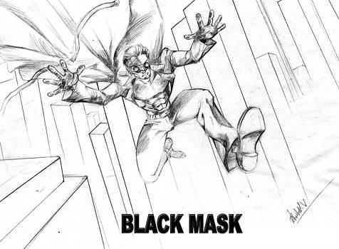 Black Mask  by Abhishek Vishwakarma
