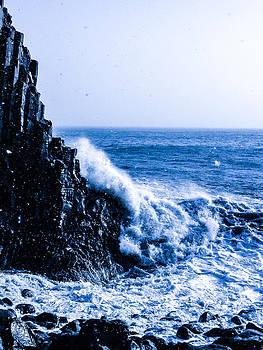 Black Rock of Vik by Dan Kincaid
