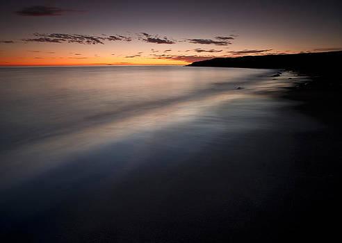 Black Sand Beach by Petur Mar Gunnarsson