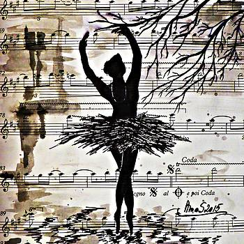 Black Swan by AmaS Art