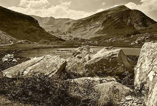 Jane McIlroy - Black Valley Killarney Ireland Sepia