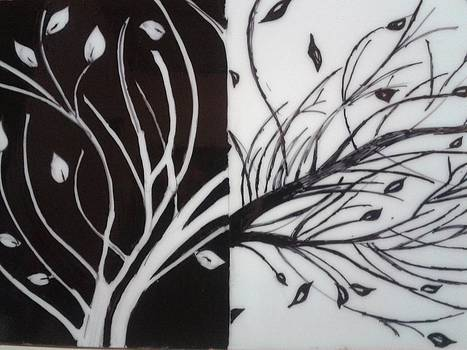 Black White Tree by Shaikh Najeeb