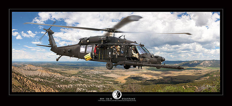 Blackhawk Helicopter by Larry McManus