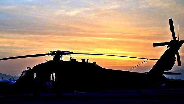 BlackHawk Sunrise II by Joshua Burcham