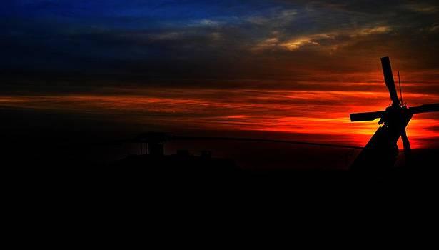 BlackHawk Sunrise III by Joshua Burcham